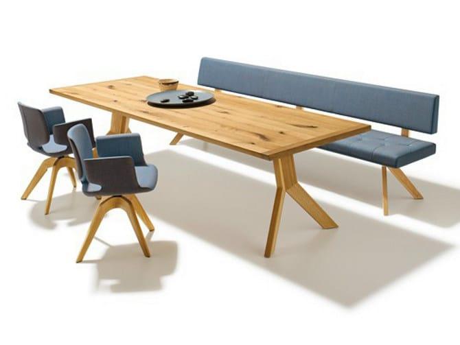 Rectangular beech table YPS | Beech table by TEAM 7