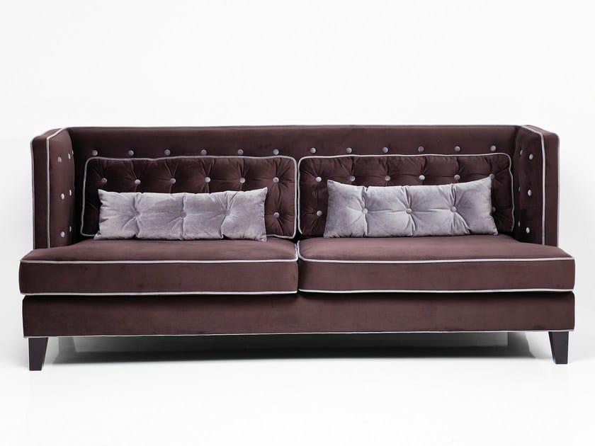 3 seater fabric sofa DENVER VELVET by KARE-DESIGN