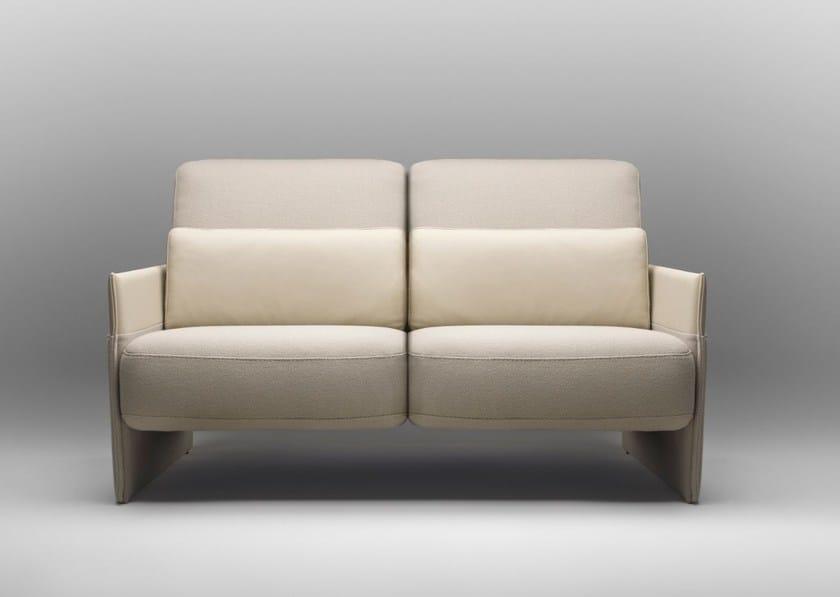 2 seater fabric sofa TABAC | Sofa by Bosc