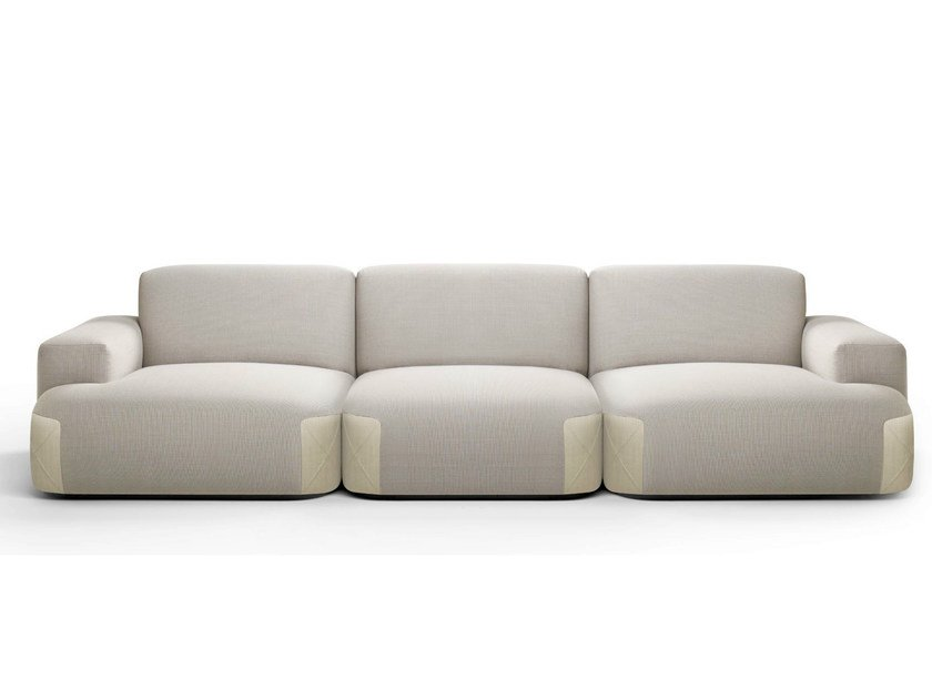 Sectional modular fabric sofa PEDAS | Sectional sofa by Bosc