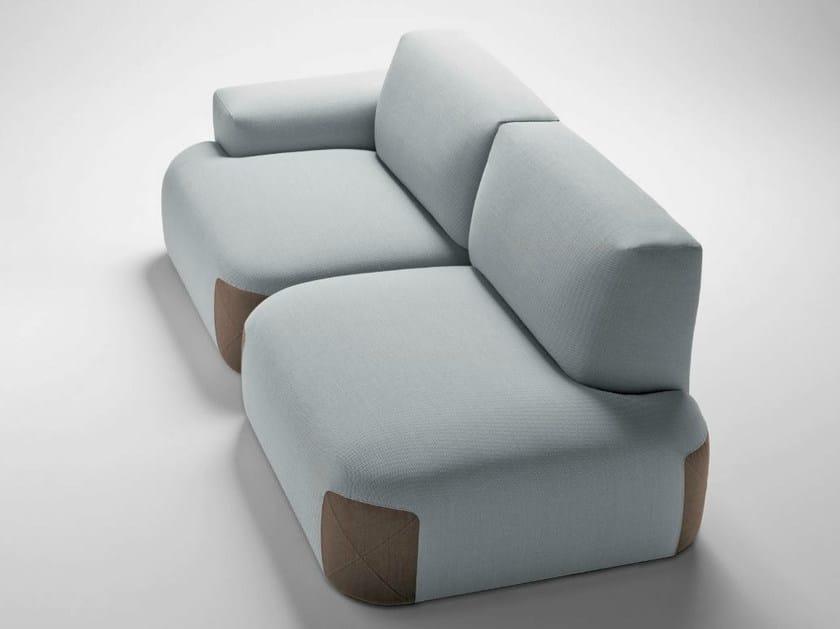 Fabric sofa PEDAS | Sofa by Bosc