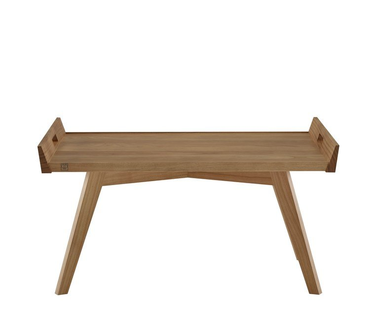 Cherry wood coffee table LUPO by Ligne Roset