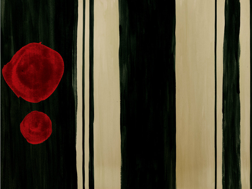 Striped wallpaper MARK MEMORIES by Wall&decò