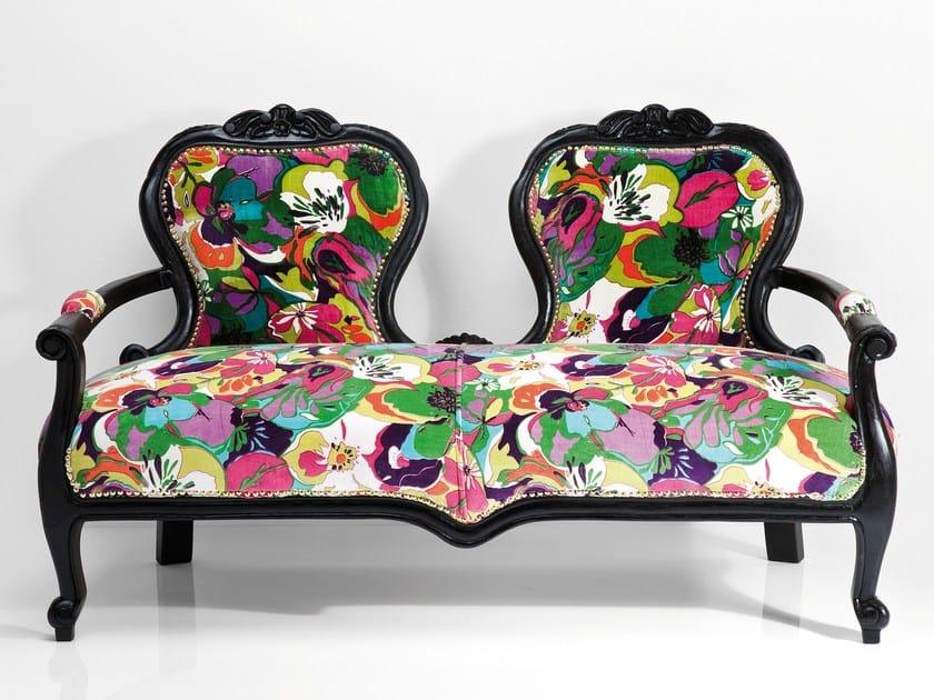 2 seater fabric sofa VEGETATION by KARE-DESIGN