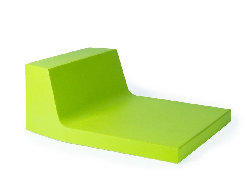 QM Foam bench seating with back PODIUM SEAT LOW by Quinze & Milan