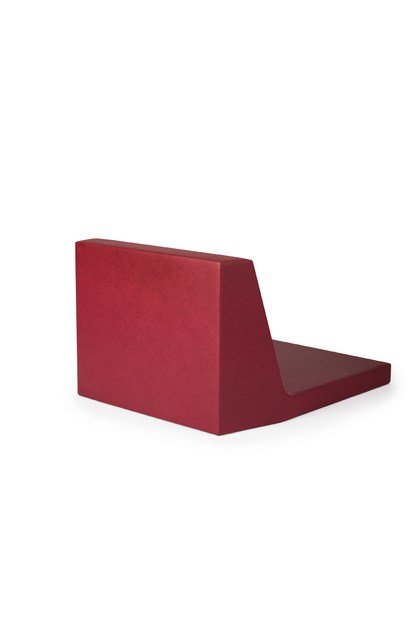 QM Foam bench seating with back PODIUM SEAT HIGH by Quinze & Milan