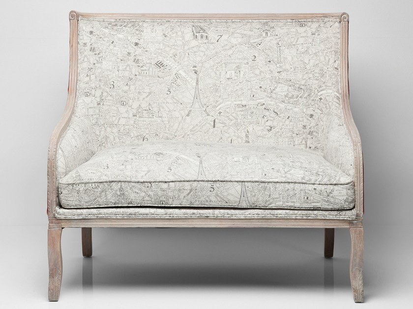 2 seater high-back fabric sofa BOUND FOR PARIS by KARE-DESIGN