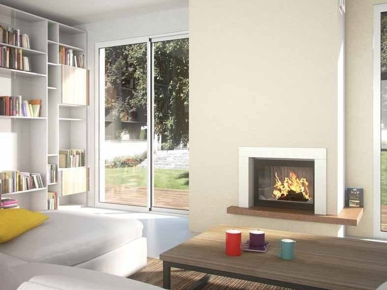 Wood-burning built-in fireplace ANTIOPE by CHEMINEES SEGUIN
