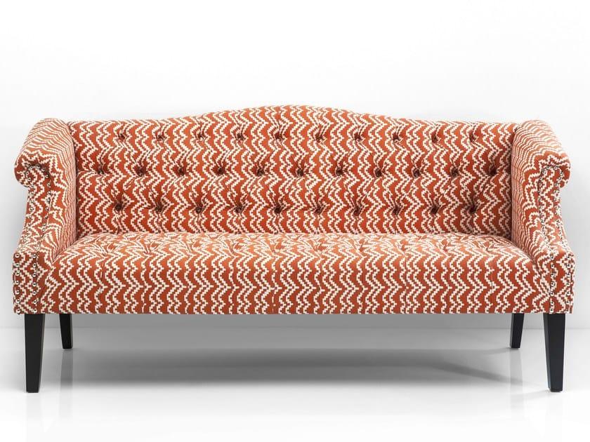3 seater fabric sofa JULIETTA by KARE-DESIGN