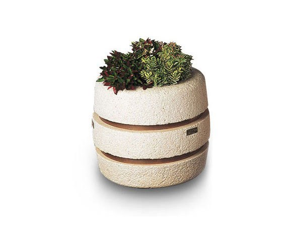 Concrete Flower pot GIACINTO by Tegolaia