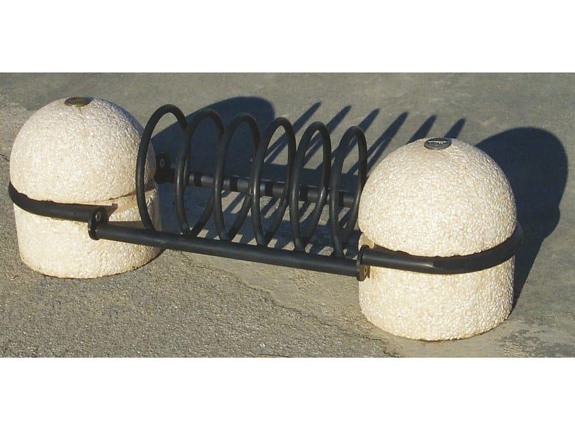 Bicycle rack SPIROBIKE COMPACT by Tegolaia