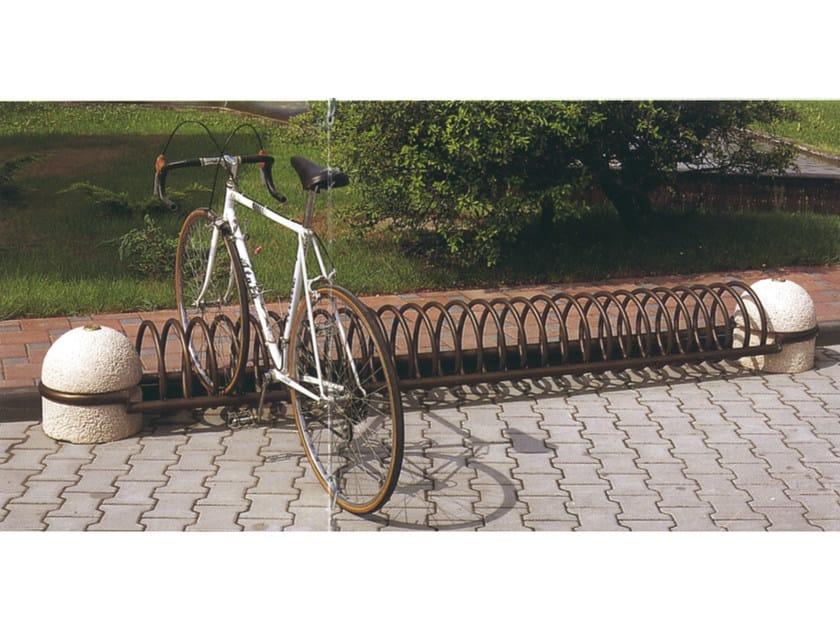 Bicycle rack SUPERSPIROBIKE by Tegolaia