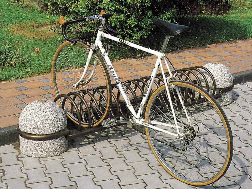 Bicycle rack SPIROBIKE by Tegolaia