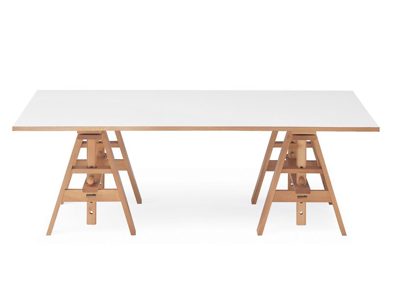 Laminate writing desk LEONARDO by Zanotta