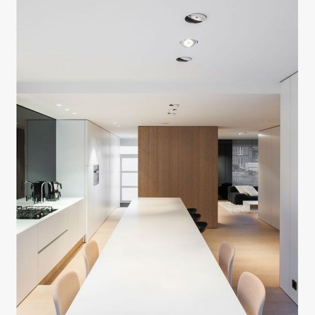 spot pour plafond encastrable diro trimless s1 by delta light. Black Bedroom Furniture Sets. Home Design Ideas