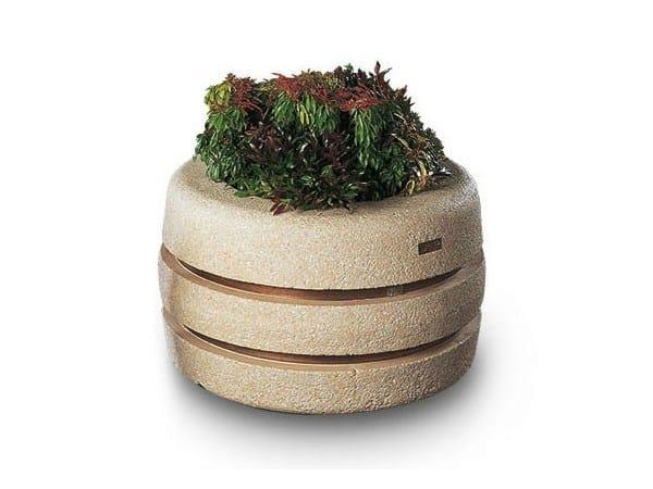 Concrete Flower pot PEONIA by Tegolaia