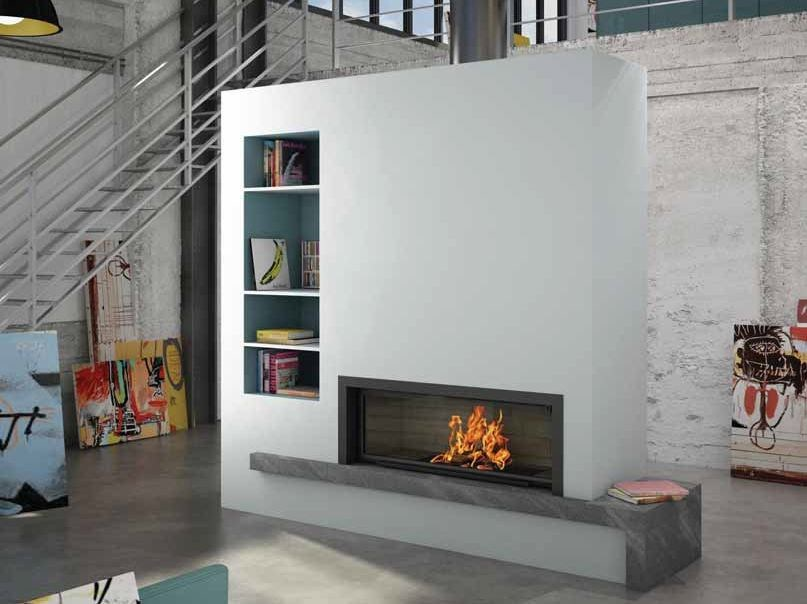 Wood-burning built-in fireplace LIMOISE by CHEMINEES SEGUIN