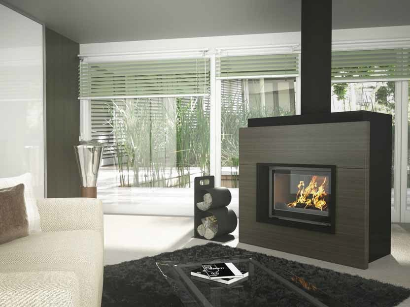 Wood-burning fireplace ERAKIS by CHEMINEES SEGUIN