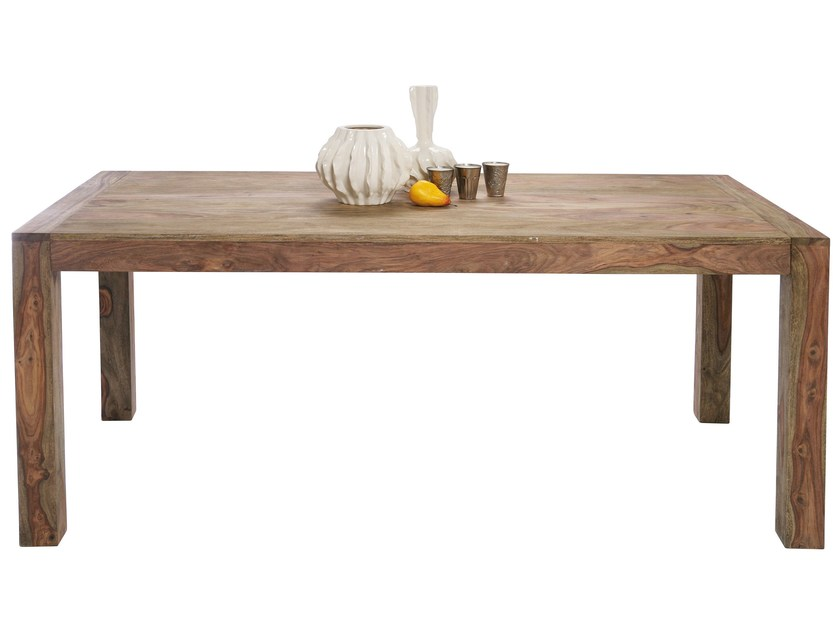 Rectangular wooden table AUTHENTICO | Rectangular table by KARE-DESIGN