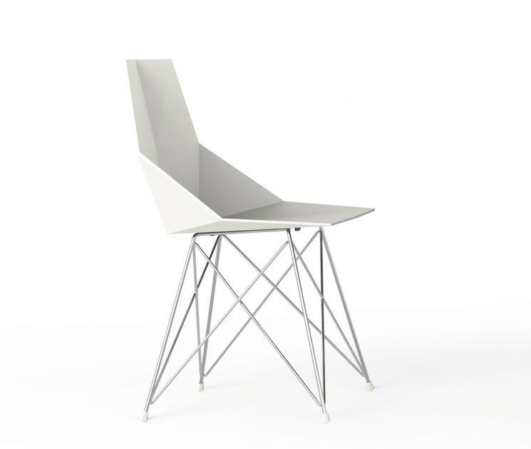 Polypropylene garden chair FAZ   Chair by VONDOM