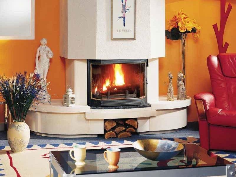Wood-burning fireplace GLWADYS I by CHEMINEES SEGUIN