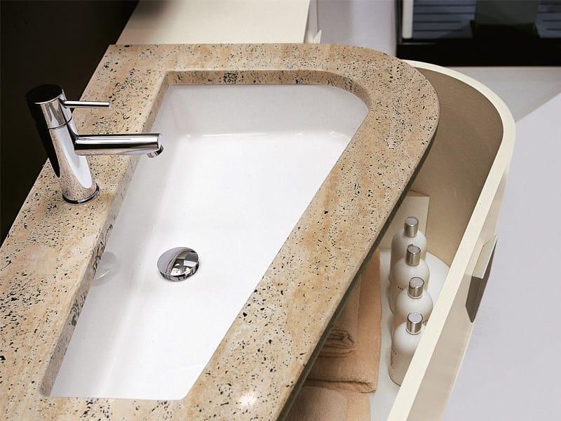 Undermount single washbasin VIRGOLA | Undermount washbasin by Edoné by Agorà Group