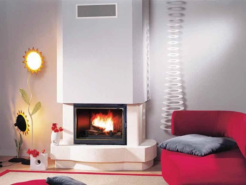 Wood-burning fireplace SPIRALE by CHEMINEES SEGUIN