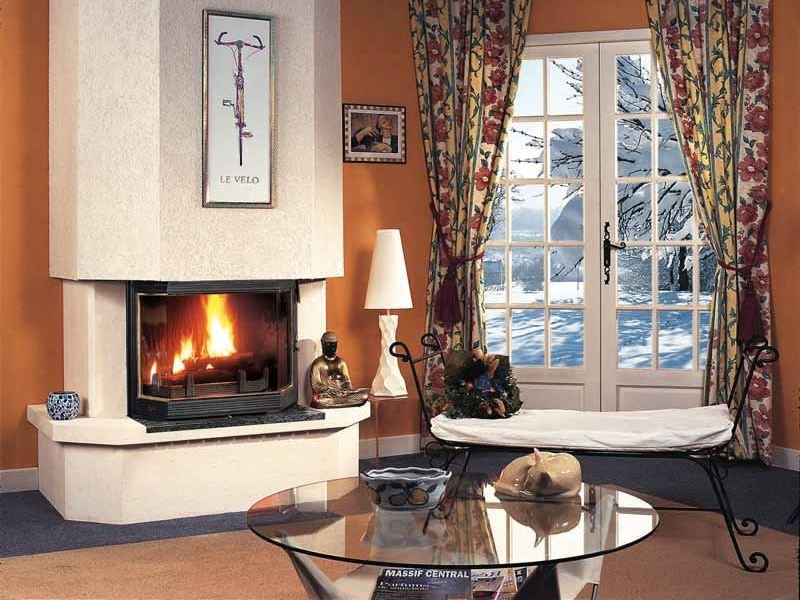 Wood-burning fireplace VALÉRIANE by CHEMINEES SEGUIN