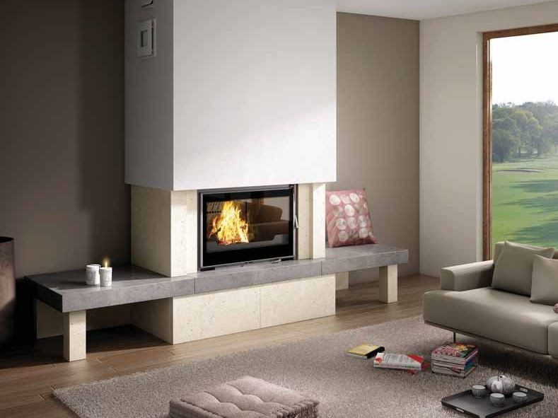 Wood-burning fireplace MONTERO by CHEMINEES SEGUIN