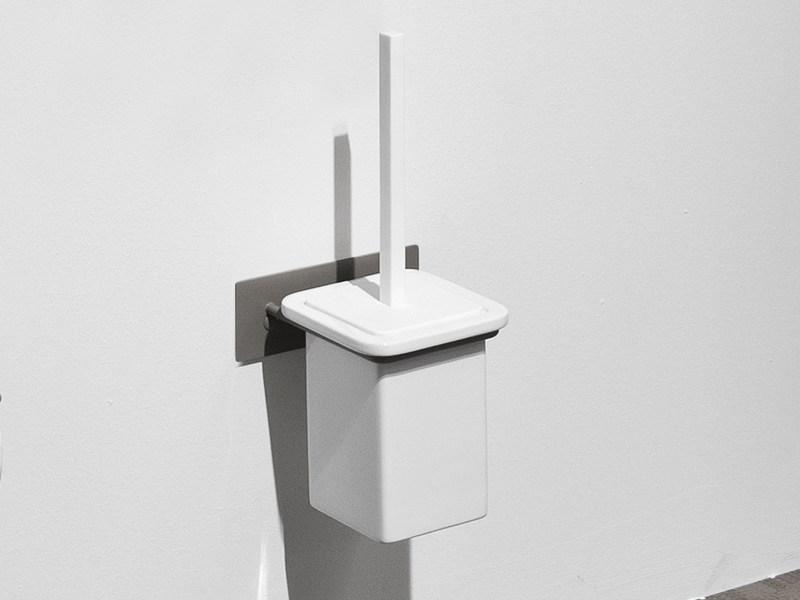 Wall-mounted toilet brush FILO | Toilet brush by Edoné by Agorà Group