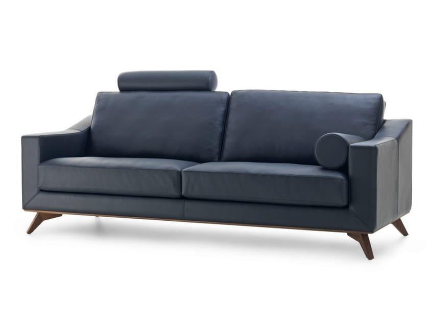Leather sofa ANTONIA ADORE | Leather sofa by LEOLUX