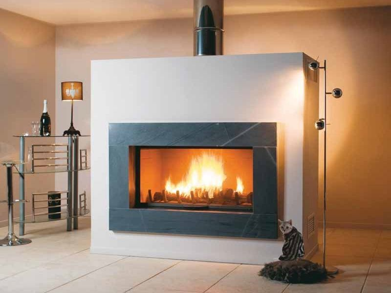 Wood-burning fireplace VICKY by CHEMINEES SEGUIN