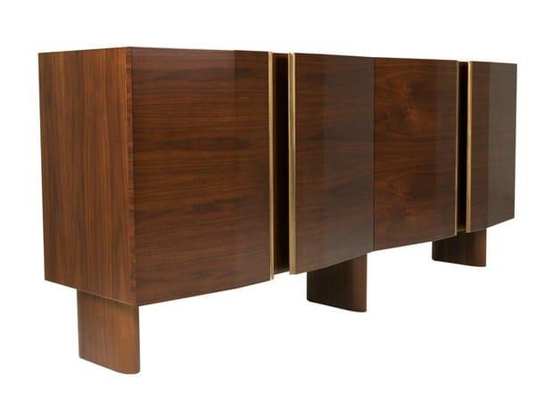 Wooden sideboard with doors ARKEN by Hamilton Conte Paris