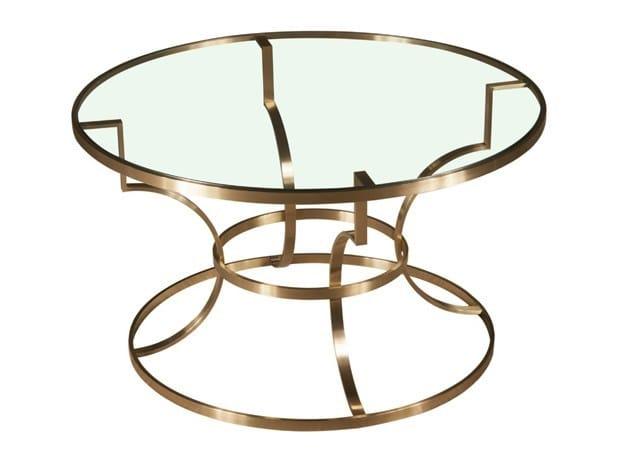 Round coffee table ATELA by Hamilton Conte Paris