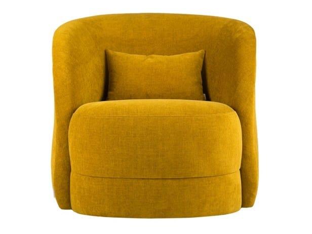Fabric armchair LAURA by Hamilton Conte Paris