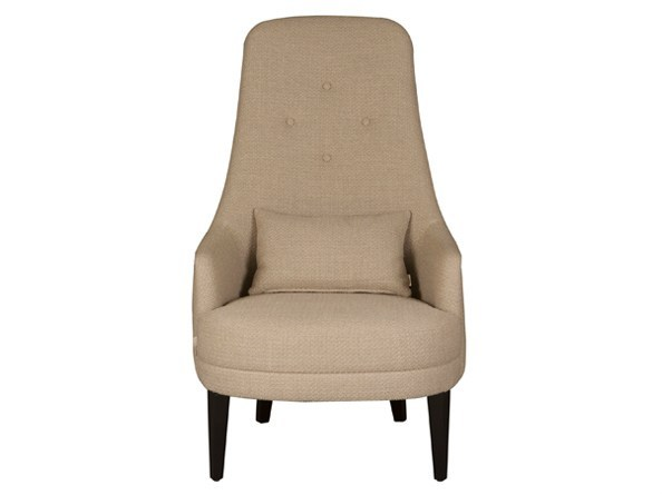 Easy chair with armrests high-back ISADORA by Hamilton Conte Paris
