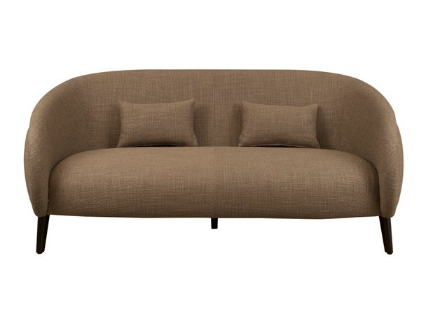 2 seater fabric sofa OLEG 2P by Hamilton Conte Paris