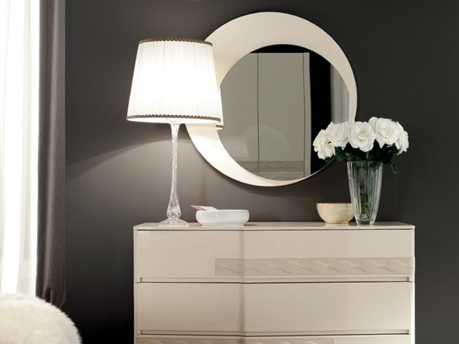 Wall-mounted mirror CHANEL | Mirror by Dall'Agnese
