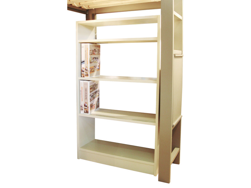 Double-sided lacquered kids bookcase DOMINIQUE | Double-sided kids bookcase by Mathy by Bols