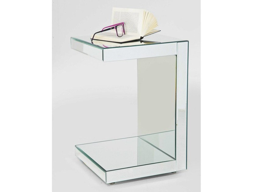 Glass coffee table MIRROR by KARE-DESIGN