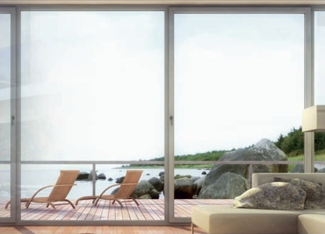 PVC lift and slide window HS 76   Lift and slide window by DECEUNINCK ITALIA