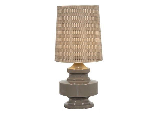 Ceramic table lamp SAINT MARTIN | Ceramic table lamp by Hamilton Conte Paris