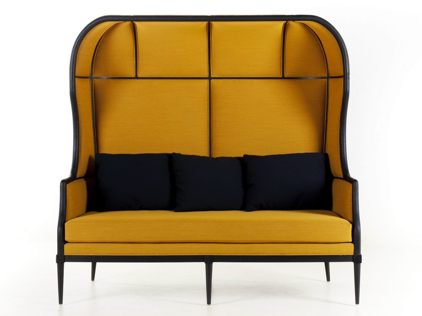 2 seater fabric sofa LAVAL CROWN CHAIR by STELLAR WORKS
