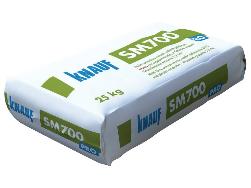 Smoothing compound SM 700 by Knauf Italia
