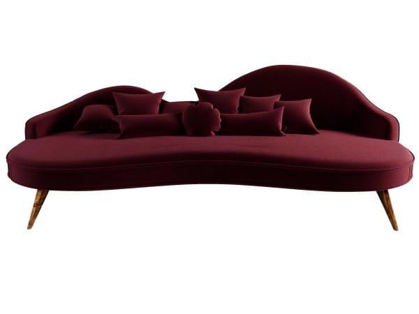 3 seater velvet sofa SWANSON by Ottiu