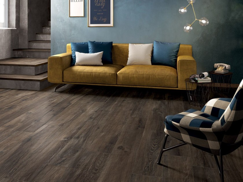 Porcelain stoneware wall/floor tiles LEGEND by Ariana Ceramica
