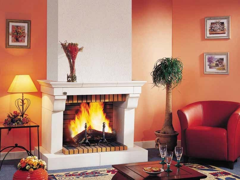 Wood-burning fireplace RICHEMONT by CHEMINEES SEGUIN