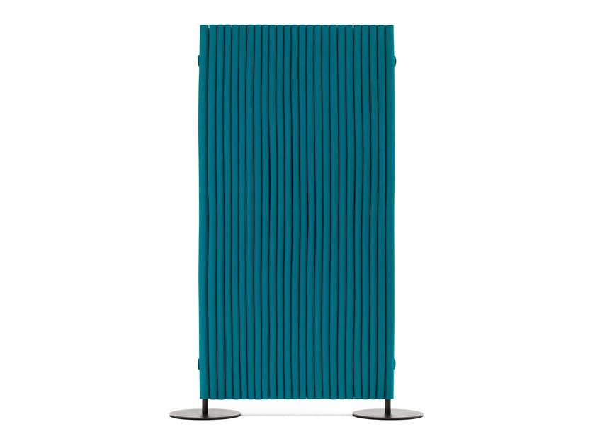 Wool felt room divider WAVE | Room divider by HEY-SIGN