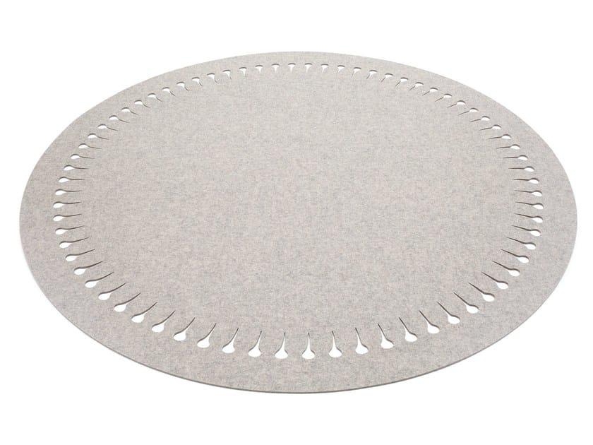 Round rug PAPPUS by HEY-SIGN