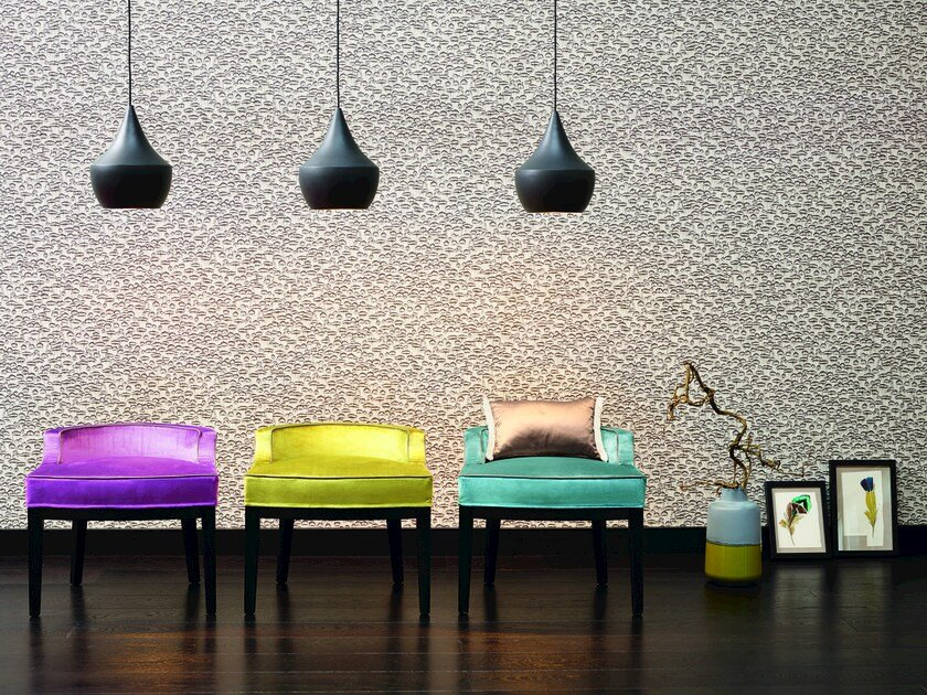 Motif wallpaper FEATHER by Zimmer + Rohde